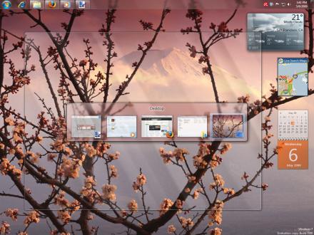 windows 7 RC screenshot