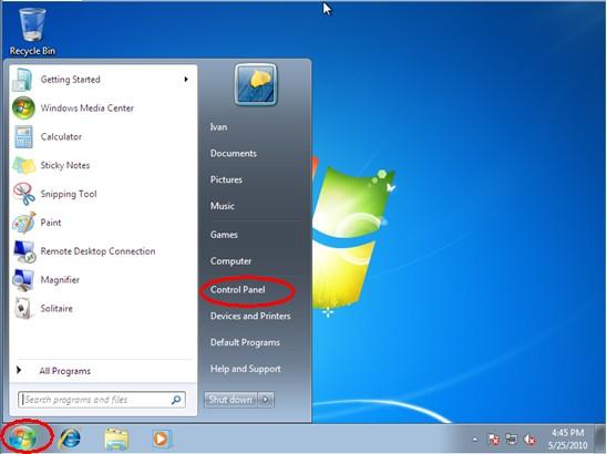 Windows Password Reset