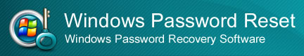 Windows password reset banner