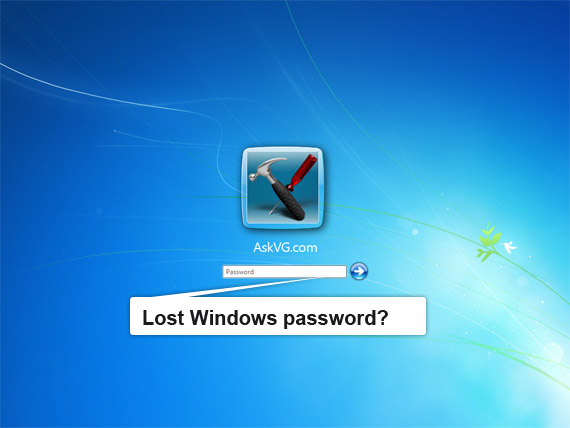 lost windows password