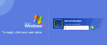 reset windows xp password
