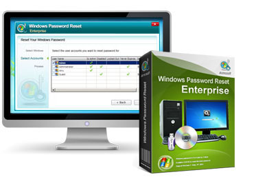 Anmosoft Windows Password Reset Enterprise V8.0