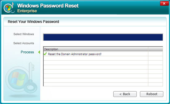 resetting Windows Server 2008 admin password