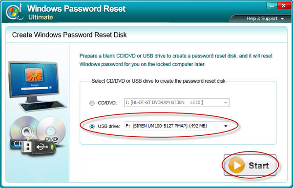 Reset Windows Server 2003 Password password