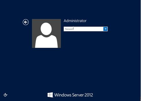 Forgot Windows Server 2012 password