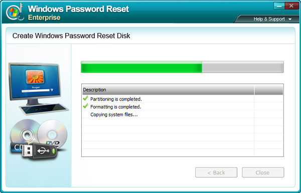 recover Windows Server 2000 admin password