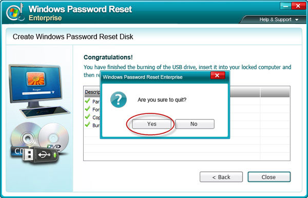 remove Windows Server 2000 admin password