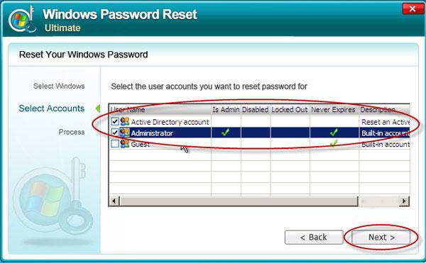 How to reset Windows Server 2000 Password - Windows Server