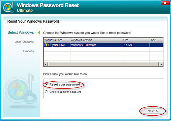 How to reset Windows lost or forgotten domain password and