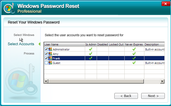 forgot Windows admin password
