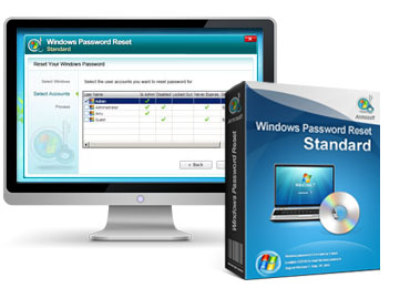 Anmosoft Windows Password Reset Standard Edition